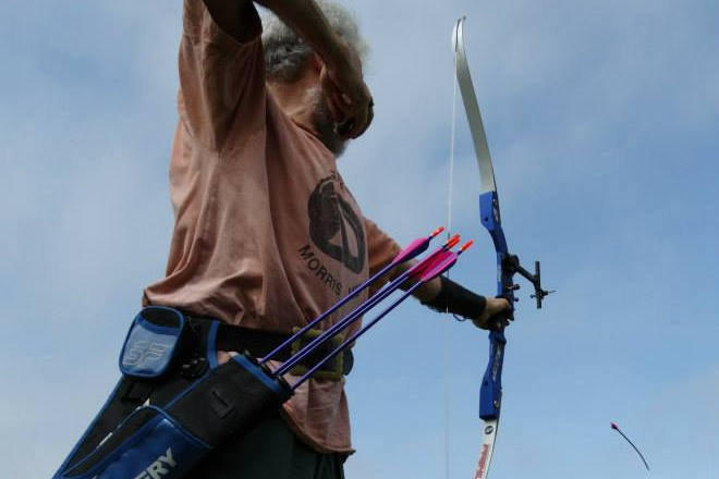 Brighton Bowmen Archery Beginner's Course, August 2015